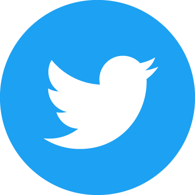Twitter Social Icon Circle Col