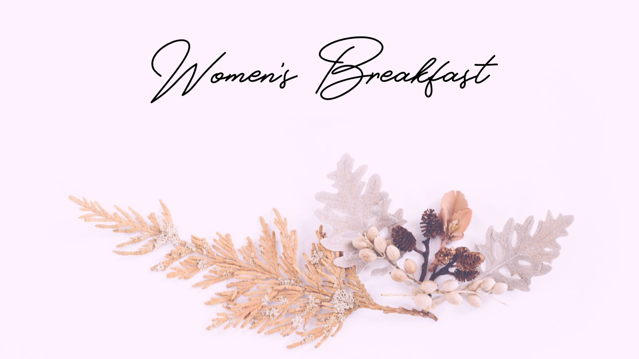 Womens Breakfast No Date